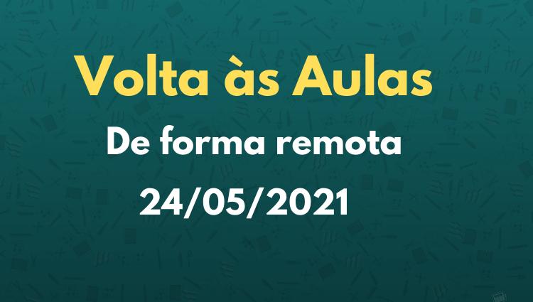 O Ifes campus Linhares informa que o ano letivo 2021 terá início no dia 24 de maio (segunda-feira)
